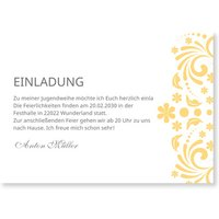 Einladungskarten Jugendweihe / Einladungskarten Jugendweihe | Versandfertig in 24 Stunden