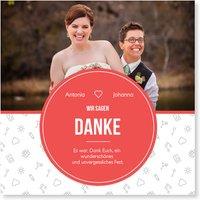 Dankeskarten Hochzeit gleichgeschlechtlich / Dankeskarten zur gleichgeschlechtlichen Ehe | Wunderkarten