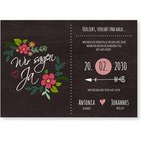 Einladungskarten Hochzeit / Einladungskarten Hochzeit | Schneller & kostenloser Versand