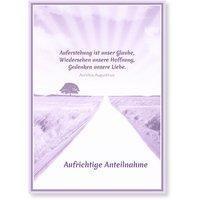 Beileidskarten Trauer / Beileidskarte online gestalten | Versandfertig in 24 h