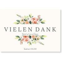 Dankeskarten Hochzeit / Dankeskarten Hochzeit | Gratis Musterkarten und Versand