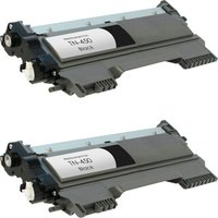 2 Pack - Compatible Brother TN450 Toner Cartridges, High Yield, Black (Replaces TN420)