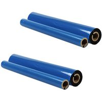 2 Pack - Compatible Brother PC-402RF Ribbon Refill Roll