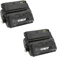 2 Pack - Compatible Replacement For HP 42X Toner Cartridge, Black, High Yield (Q5942X)