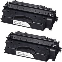 2 Pack - Compatible Canon 120 Toner Cartridge, Black (2617B001AA)