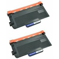 2 Pack - Compatible Brother TN850 Toner Cartridges, High Yield, Black (Replaces TN820) - 8,000 Page Yield