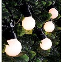 Lyyt LED 5 Metre Festoon Light Waterproof Warm White (10 Lights)