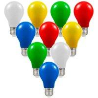 Crompton Lamps LED Festoon GLS 1.5W E27 (10 Pack) Mixed