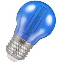Crompton Lamps LED Golfball 4.5W E27 Harlequin IP65 Blue Translucent