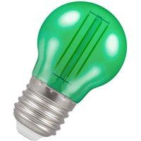 Crompton Lamps LED Golfball 4.5W E27 Harlequin IP65 Green Translucent