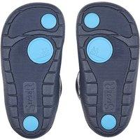 Dream, Navy blue patent girls riptape first walking boots
