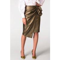 Closet Bow detail Asymmetric Skirt