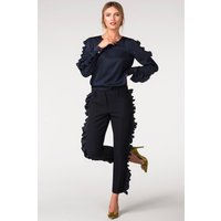 Closet Slim Trouser with frill