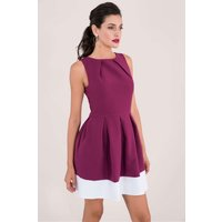 Purple Hackney Skater Dress