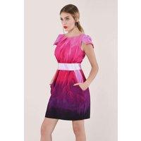 Purple Chelsea Tulip Dress