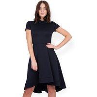 Almari Jacquard Hi Low Dress