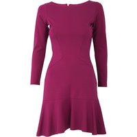 Rose Pep Hem Panel  Dress