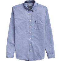 Joules Lyndhurst Stripe Shirt Dusky Blue Large