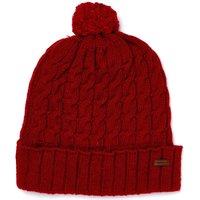 Dubarry Athboy Bobble Hat Cardinal Small
