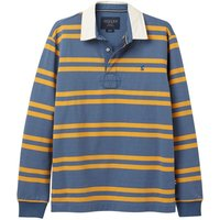 Joules Onside Rugby Shirt Blue Bright Yellow Stripe Blue XL