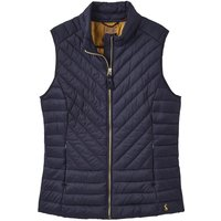 Joules Brindley Chevron Quilted Gilet Marine Navy 8
