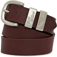 R.M. Williams Drover Belt Burgundy 32