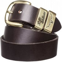 R.M. Williams 3 Piece Work Belt Brass Buckle Chestnut 36