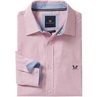 Crew Mens Classic Micro Stripe Shirt Classic Pink Large