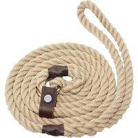 Bisley Natural Slip Dog Lead Natural 8mm