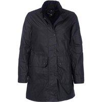 Barbour Womens Ridley Scott Reel Wax Jacket  Black 18