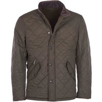 Barbour Mens Powell Quilted Jacket Olive XXL