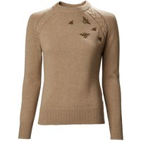 Musto Ladies Country Crew Neck Knit Caramel 14
