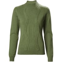 Musto Ladies Tixall Roll Neck Knit Reed Green 8