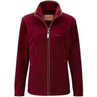 Schoffel Burley Ladies Fleece Jacket Ruby 14