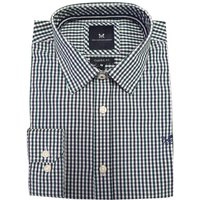 Crew Clothing Mens Classic Tattersall Shirt Washed Ivy/Navy XL