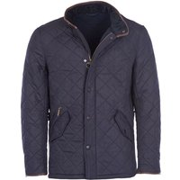 Barbour Mens Powell Quilted Jacket Navy Large