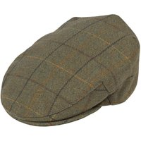 Alan Paine Mens Rutland Cap Dark Moss XXL