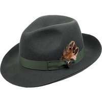 Hicks & Brown Melford Trilby Olive Large