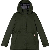 Hunter Original Womens Lightweight Rubberised Jacket Dark Olive XXS