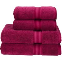 Christy Supreme Hygro Towels Raspberry Face