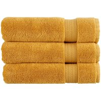 Christy Tempo Combed Cotton Towels Ochre Face Towel