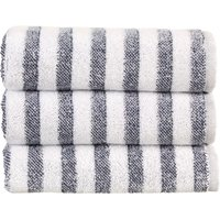 Christy Soho Stripe Towels Ocean Bath Sheet