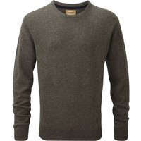 Schoffel Mens Lambswool Crew Neck Jumper Mole Large