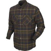 Harkila Mens Pajala Shirt Mellow Brown Check XXL