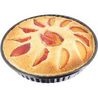 Stellar Bakeware Non-Stick Fluted Flan Tin Loose Base  25 x 3cm