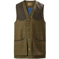 Musto Mens Lightweight Machine Washable Tweed Waistcoat Balmoral XL