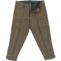 Heritage 1845 Mens Tweed Breeks Olive/Brown 38
