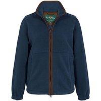 Alan Paine Womens Aylsham Fleece Jacket Blue Steel 14