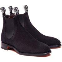 R.M. Williams Suede Craftsman Boots Black 8.5 (EU42.5)