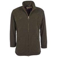 Barbour Mens Dunmoor Fleece Jacket Olive Small